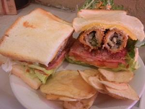 エスアンドケイ 牡蠣バーガー(角型パン チーズ)