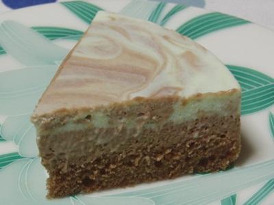 ラフレシール チョコミントチーズケーキ