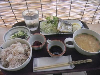 CAFE MUCUS 焼サバ定食