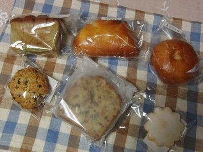 てげてげで買ったお菓子とパン
