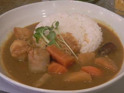 Esu and Kei 和風野菜カレー