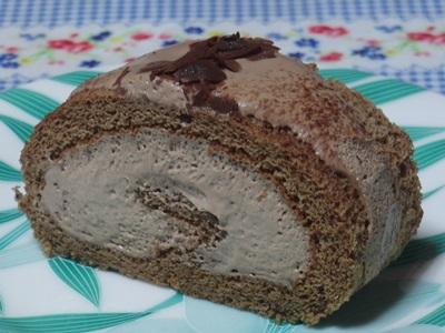 玉屋のロールケーキ チョコ