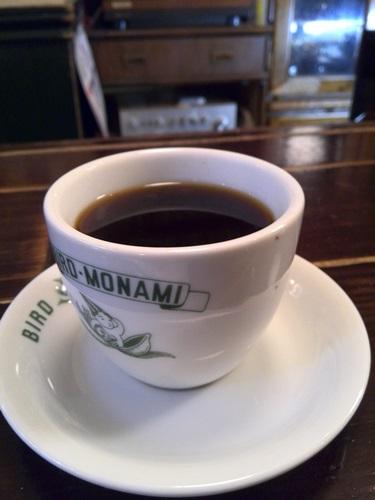 食後のコーヒー ストロング