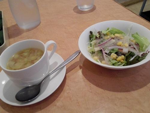 カリーノ サラダとスープ